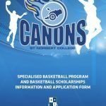 Basketball prospectus and scholarship application