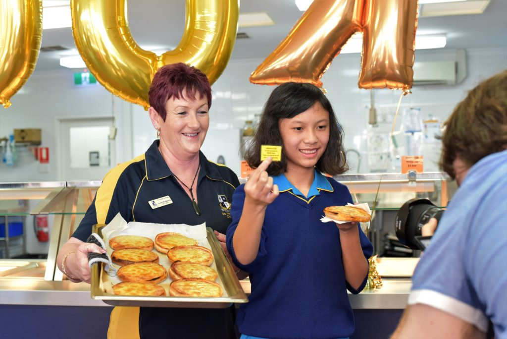 Golden moment: SNC's 200,000th cheesie