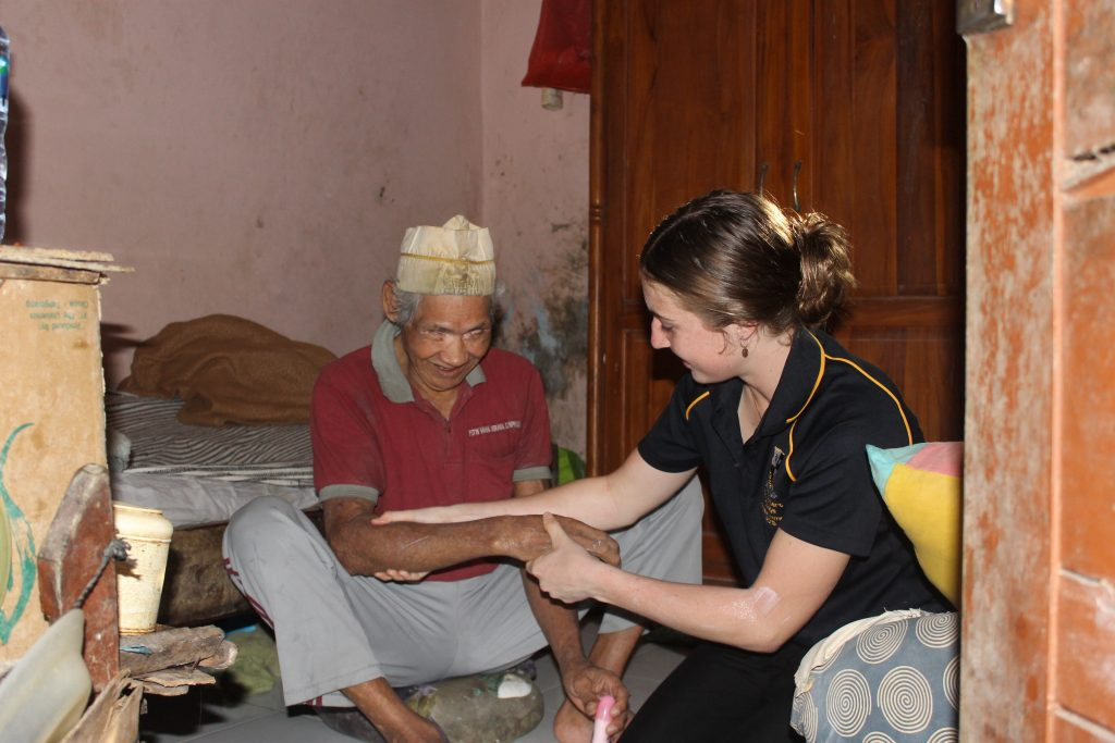 Selfless deeds in Indonesia