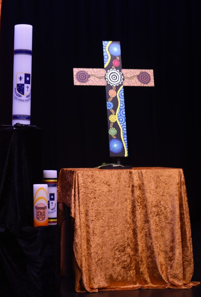 College cross unveiled for NAIDOC Week