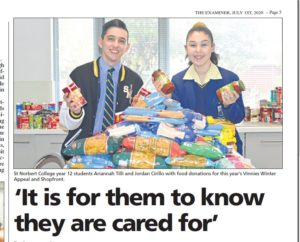 Vinnies Winter Appeal warms hearts