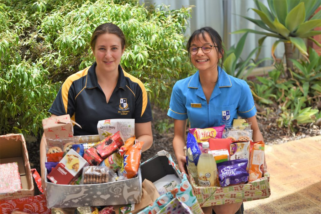 Hampers of hope delivered for Christmas