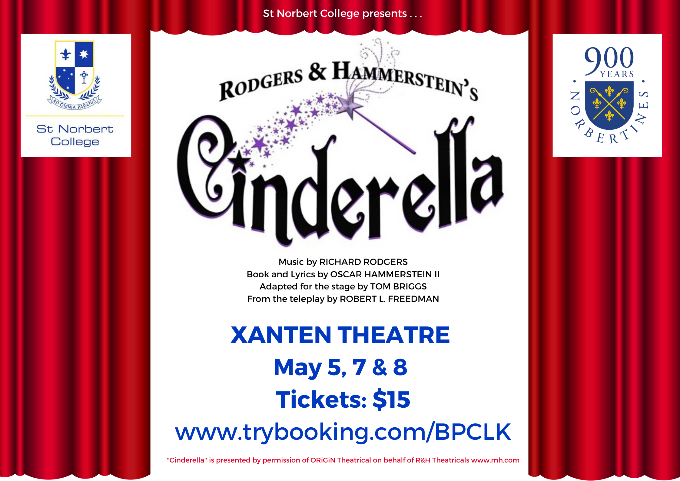 Tickets on sale for Cinderella: The Enchanted Edition